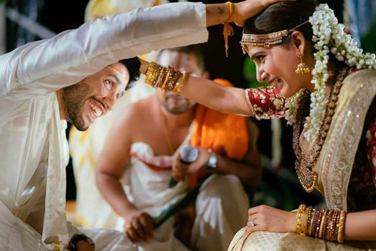 Samantha And Naga Chaitanya Wedding1