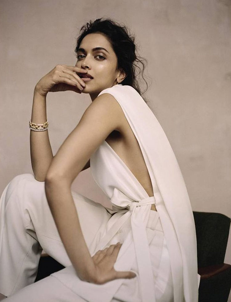 Deepika Padukone Poses For Evening Standard Magazine