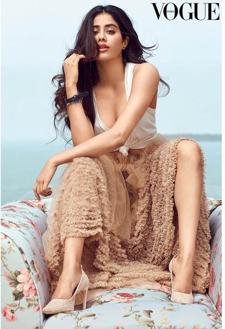 Janhvi Kapoor Poses For Vogue