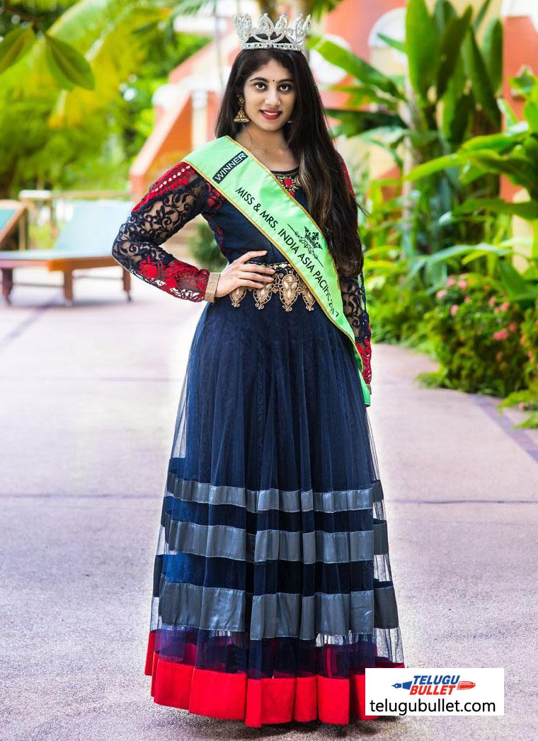 Miss India Asia Pacific 2017 - Manasa Jonnalagadda