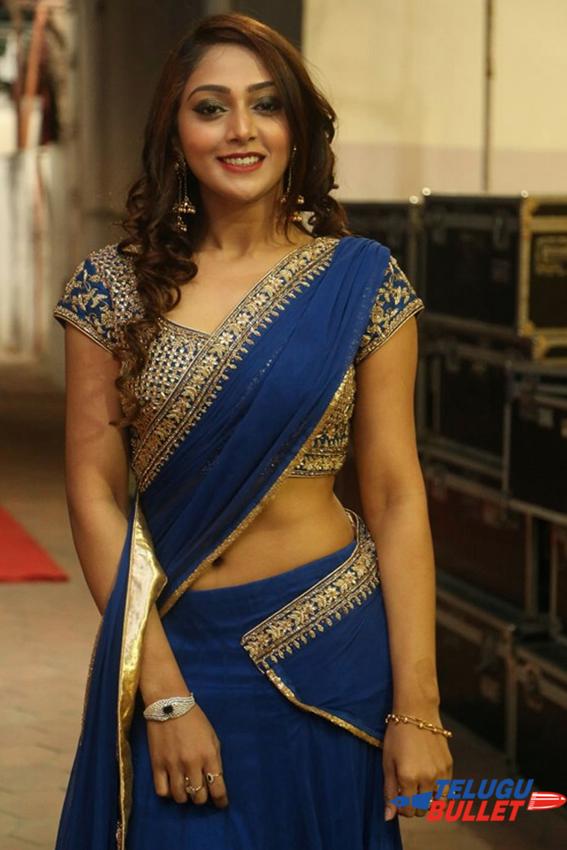 Natasha Doshi Half Saree Photos