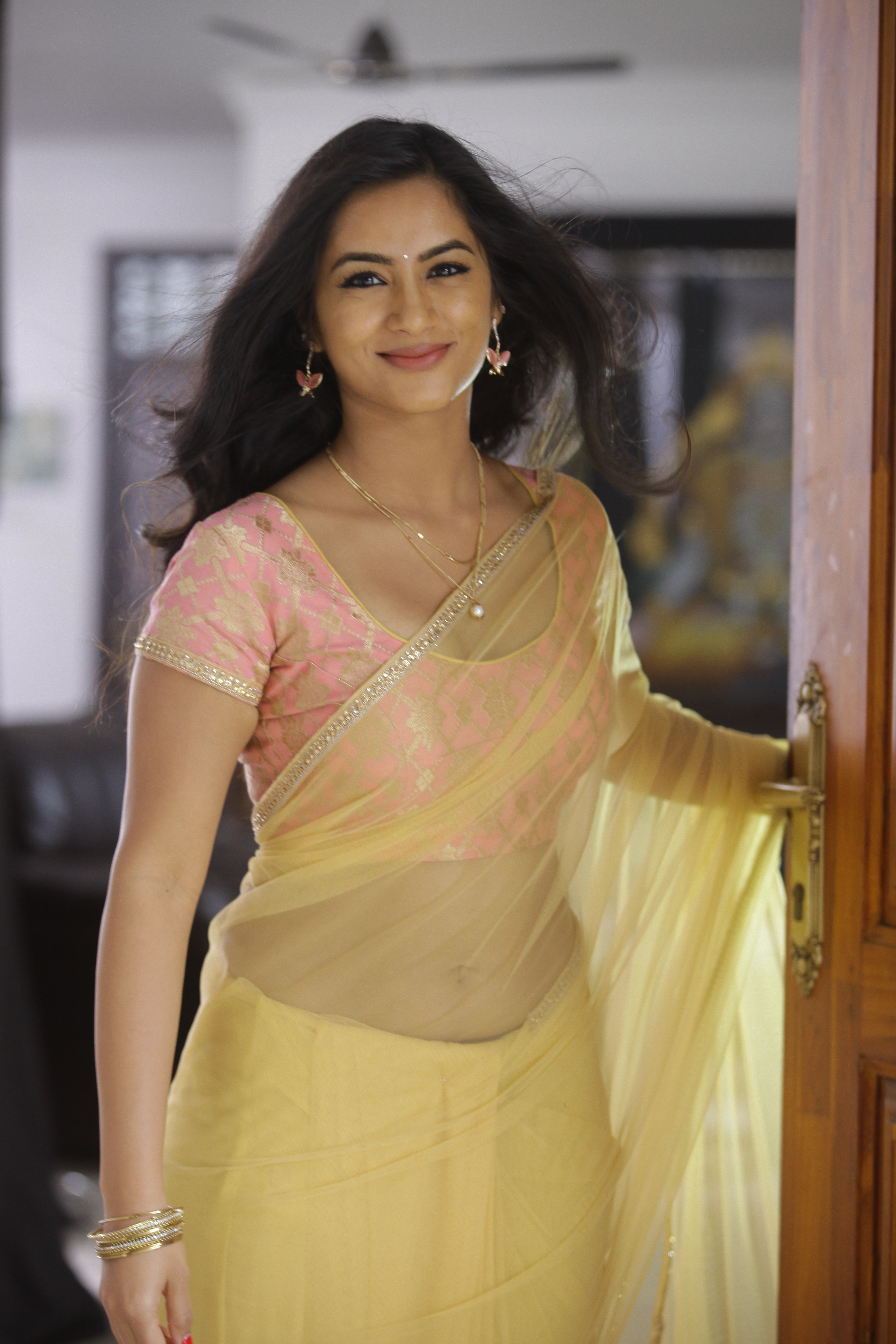 Neha Krishna Awesome Photos in Saree