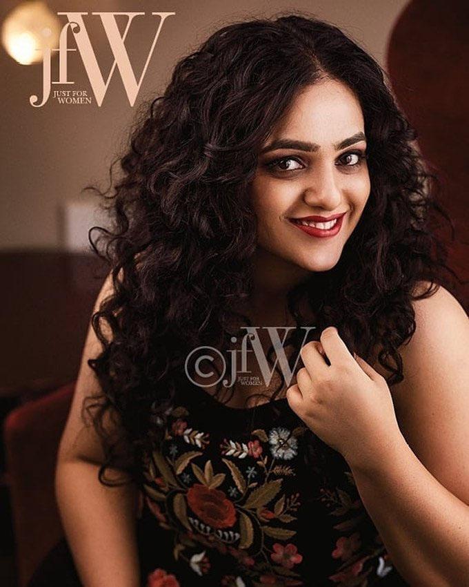 Nithya Menon Poses For JFW Magazine