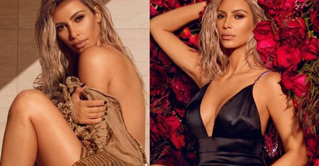Kim Kardashian PhotoShoot For Vogue Photos