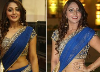 Natasha Doshi Half Saree Photos