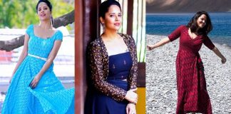 Actress Anasuya Photo Shoot Photos