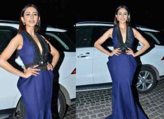 rakul preet Singh At Jio Filmfare South Award Photos