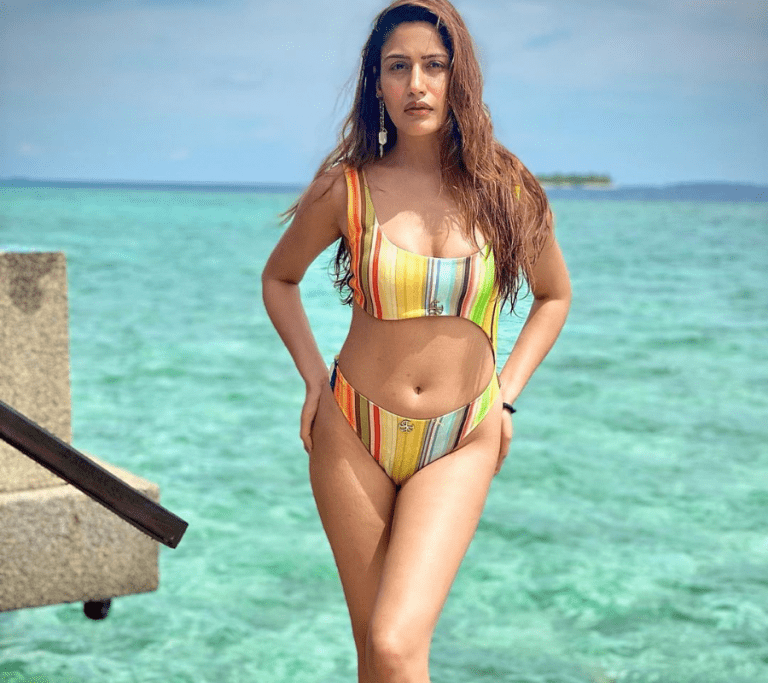 Surbhi Chandna Hot Bikini Pics at Coco Palm Bodu Hithi Maldives